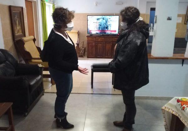 Relevamiento en Hogares de adultos mayores de la provincia