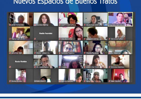 Ciclo de conversatorios Nuevos Espacios de Buenos Tratos