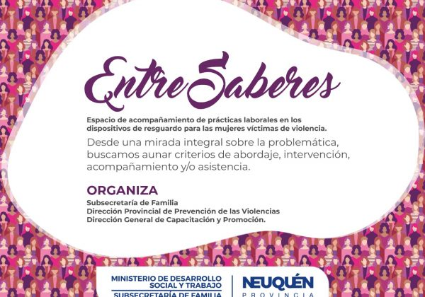 Entre Saberes: capacitan para mejorar el acompañamiento a mujeres víctimas de violencia de género